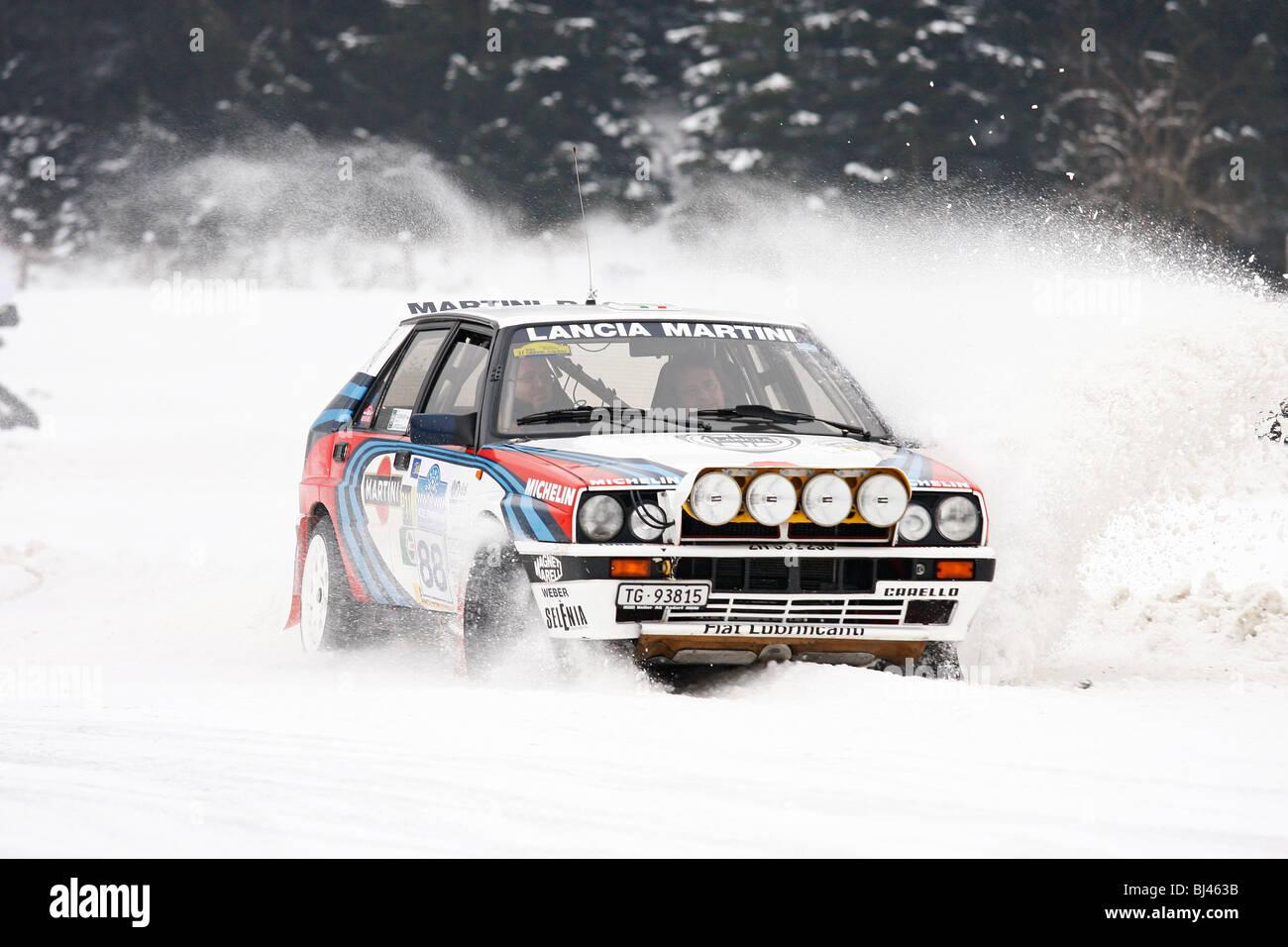 Lancia Delta Integrale Martini, former World Rally Championship ...