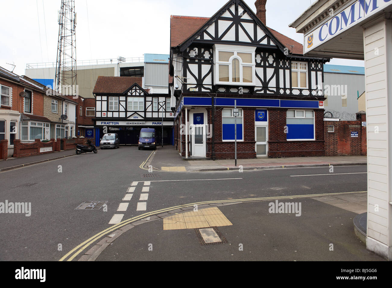 Fratton Park The Home Ground Of Portsmouth Football Club Nicknamed Pompey Most Successful Southern Outside London
