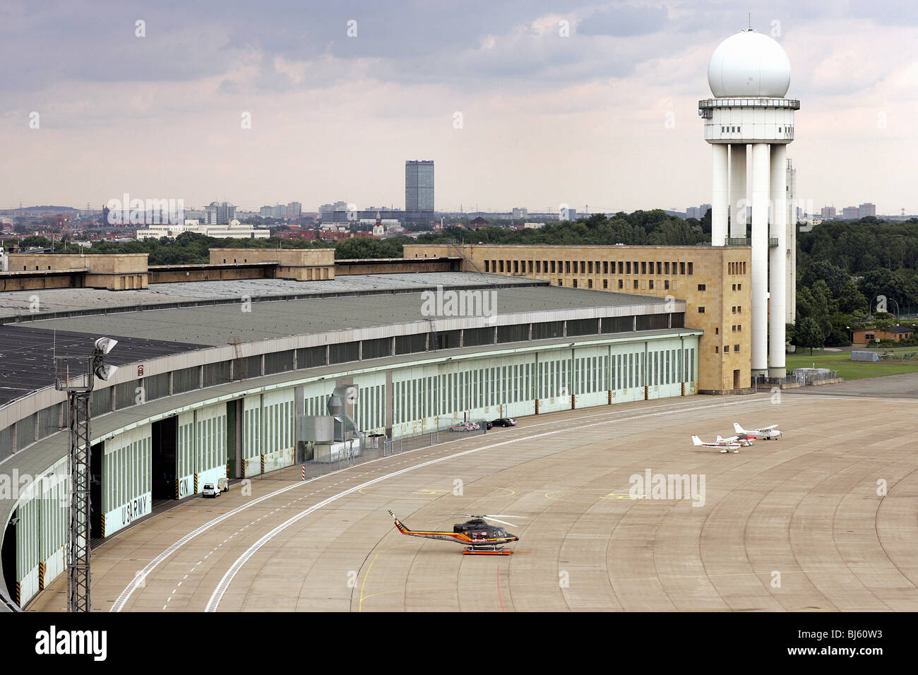 Tempelhof Airport Berlin Germany Stock Photo Royalty