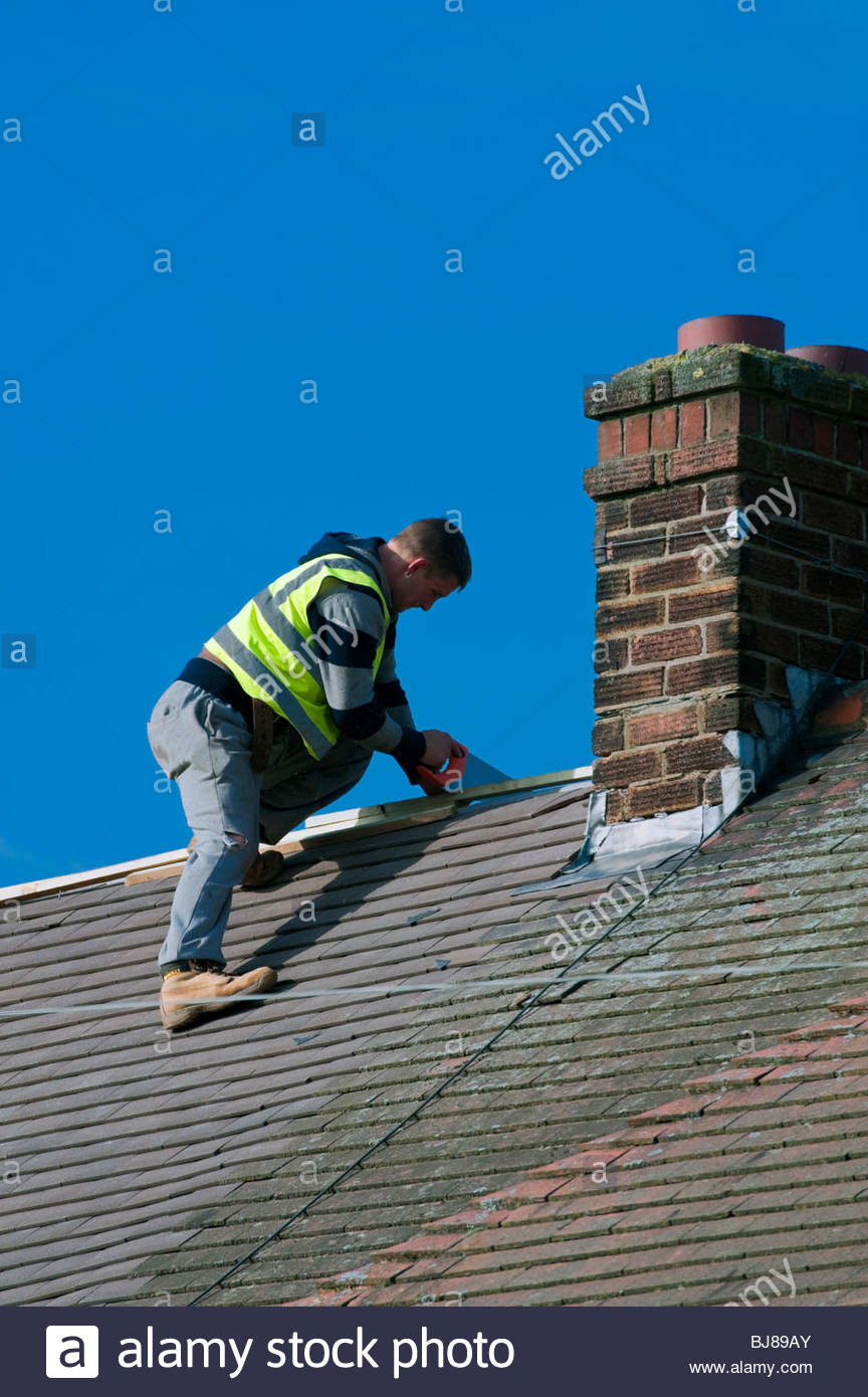 House Roof Leaking leaking roof stock photos & leaking roof stock images - alamy