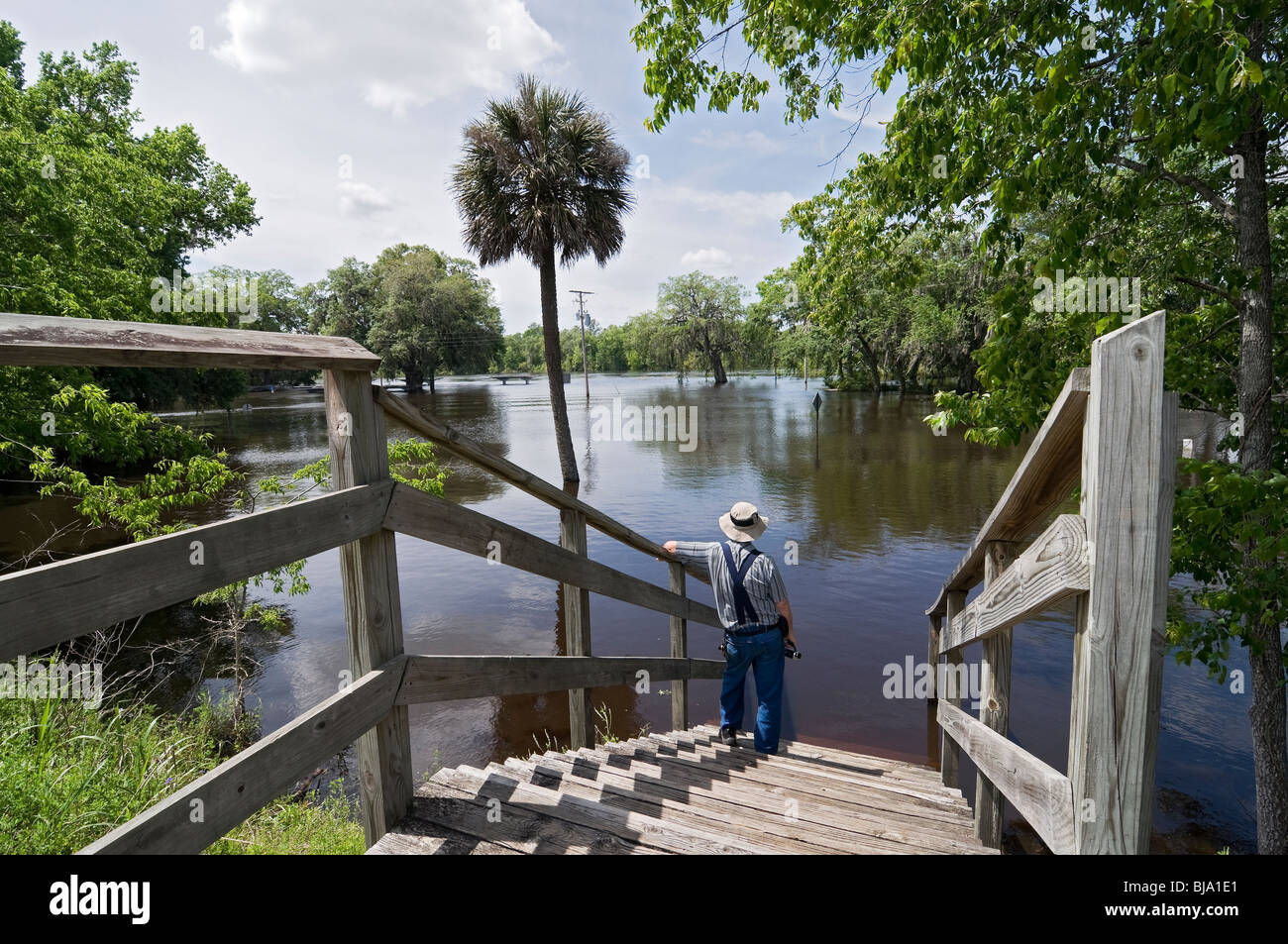 Flooding Of North Florida Rivers After Heavy Spring Rain - Florida rivers