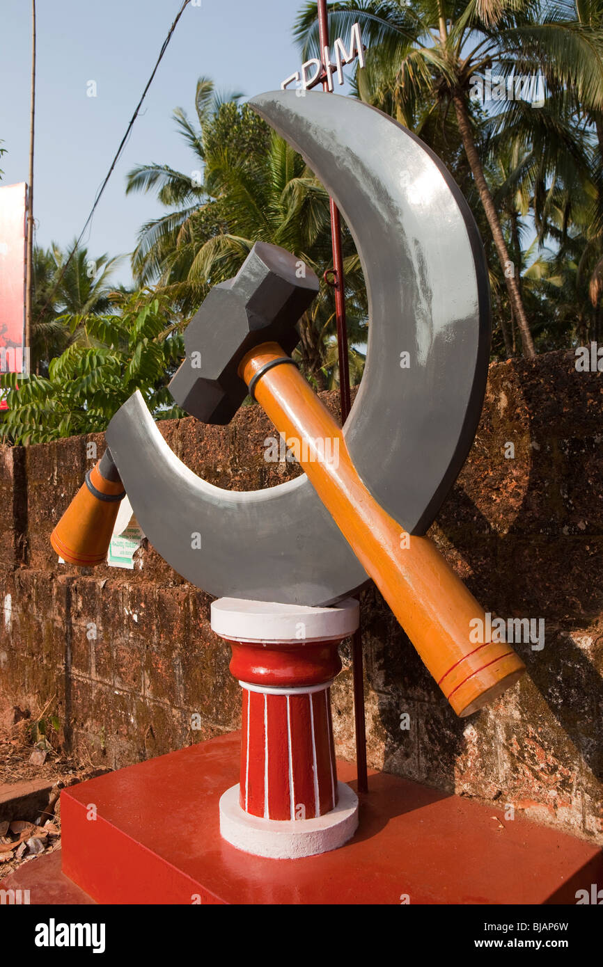 Kerala communist party stock photos kerala communist party stock india kerala cannanore kannur communist party india maoist hammer buycottarizona