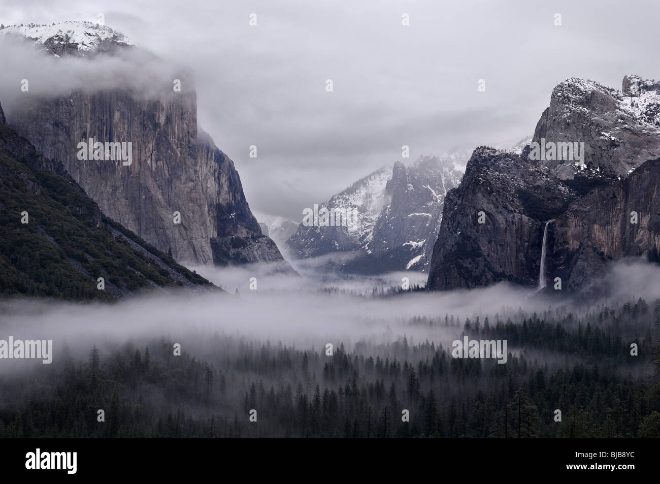 yosemite national park fog - photo #38