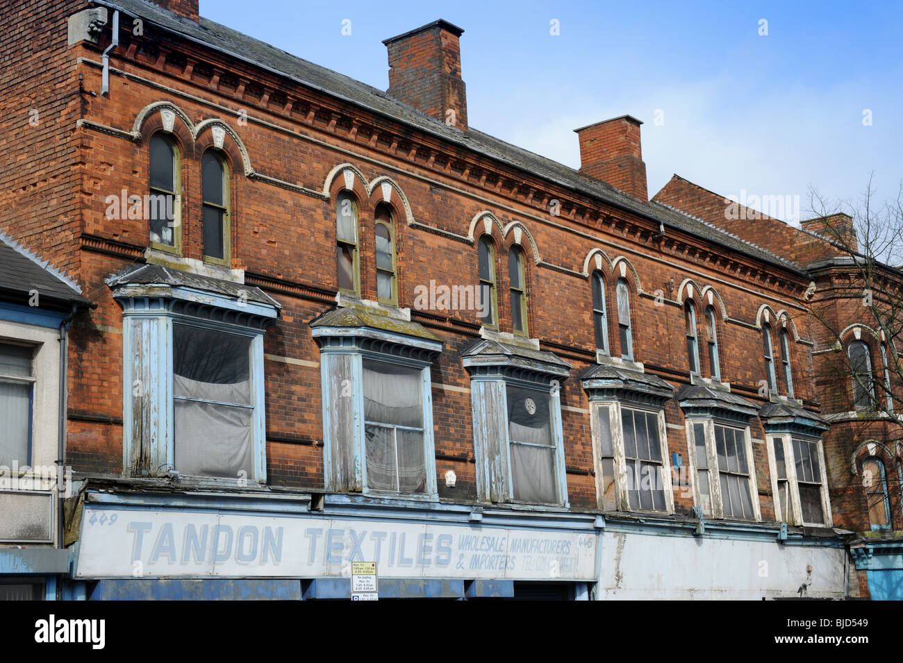 Old Victorian Edwardian Terraced Houses In Need Of