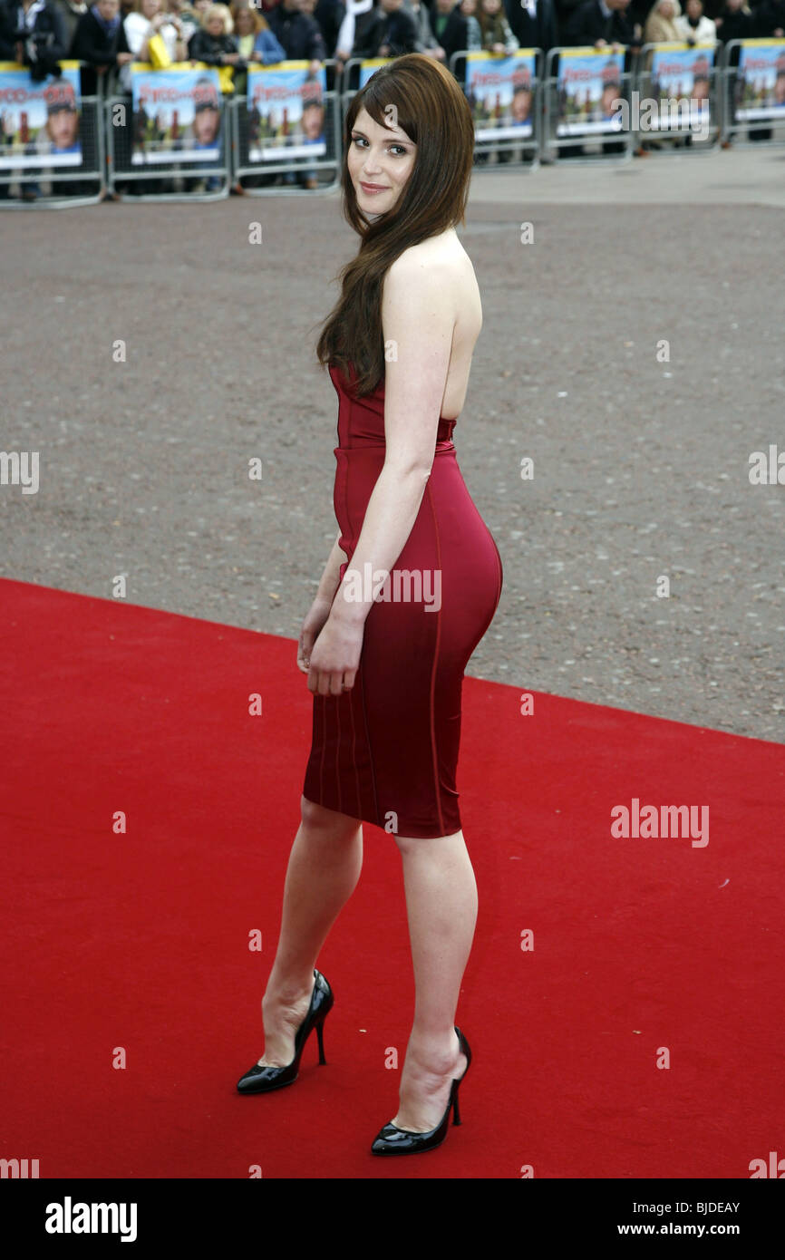 GEMMA ARTERTON THREE AND OUT FILM PREMIERE ODEON CINEMA WEST END