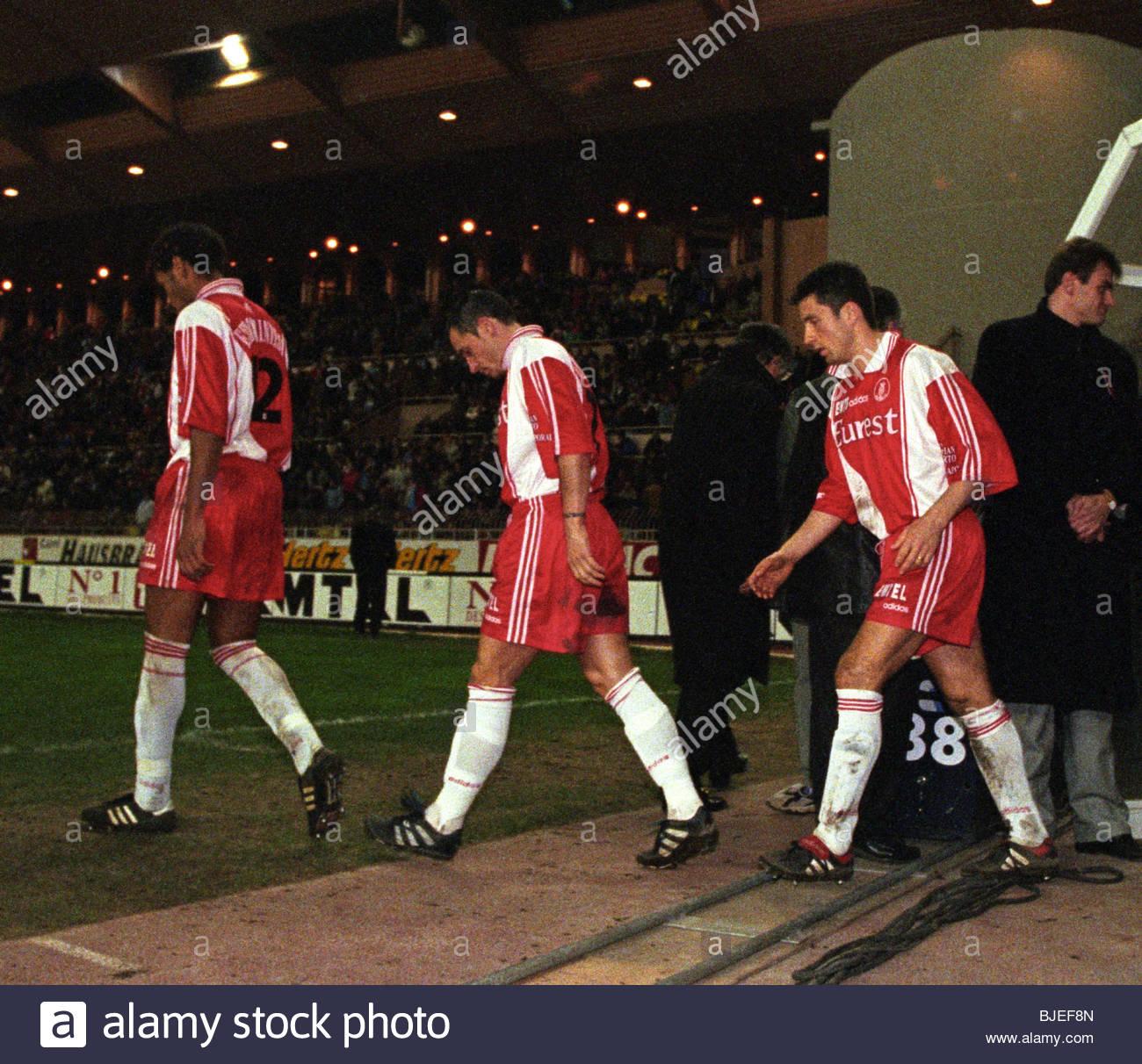 Paris Saint Germain V Estac Troyes Ligue 1: JANUARY 1997 LIGUE 1 AS MONACO V PARIS ST GERMAIN STADE