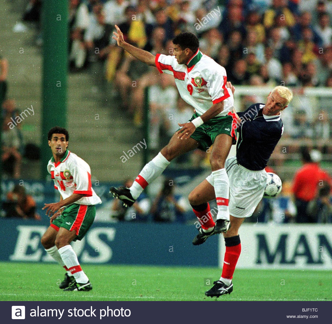 230698 fifa world cup 1998 morocco v scotland 30