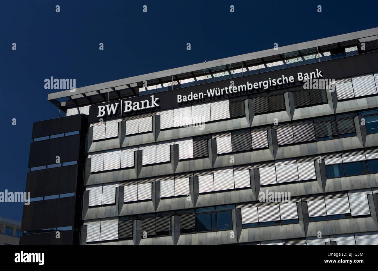 Headquarters Of The Bw Bank, Stuttgart, Germany Stock