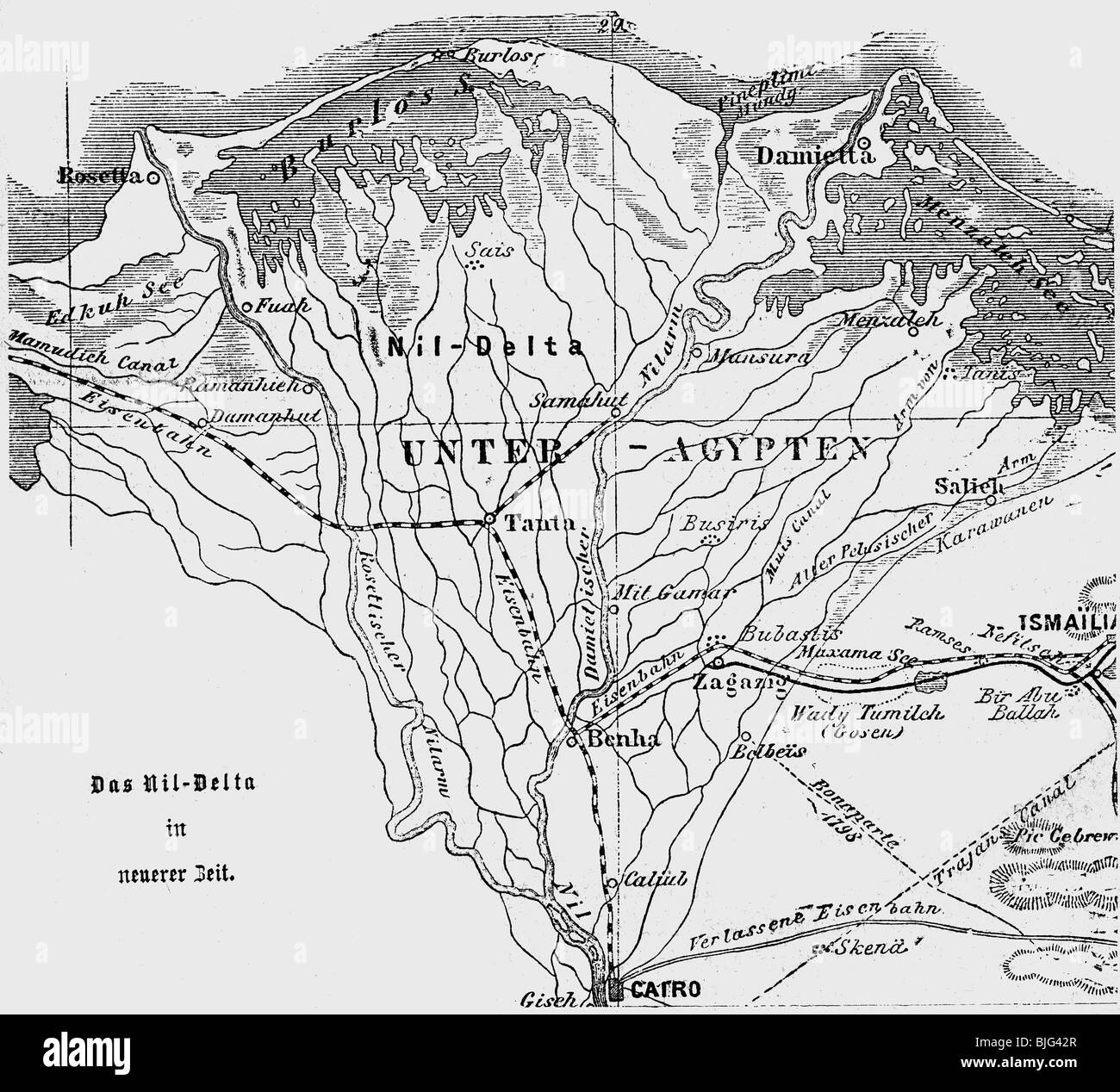 Cartography Maps North Africa Map Of The Nile Delta - Map of egypt delta