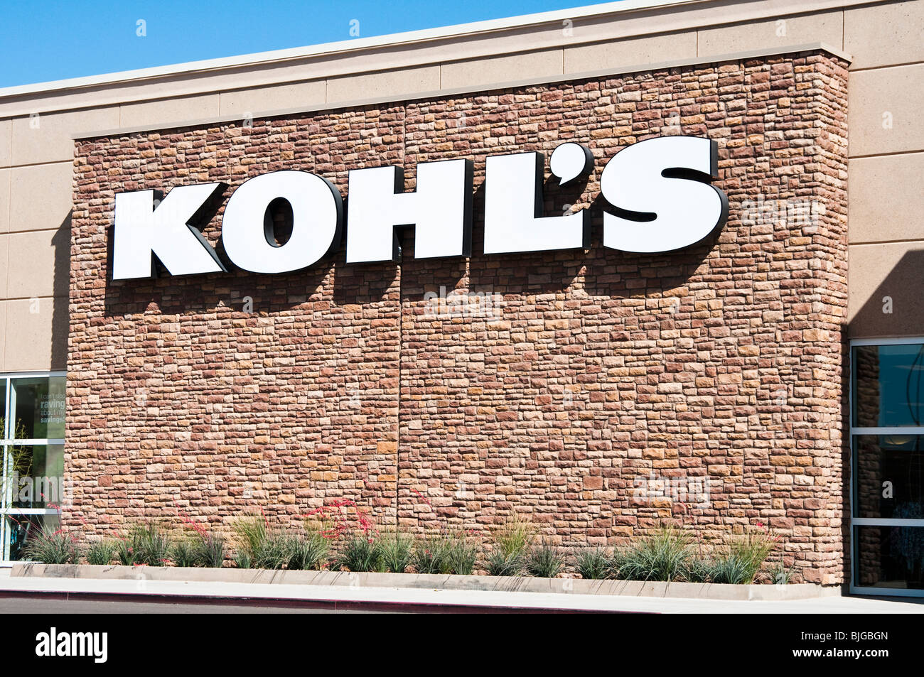 Exterior view of a kohls retail department store stock photo exterior view of a kohls retail department store biocorpaavc