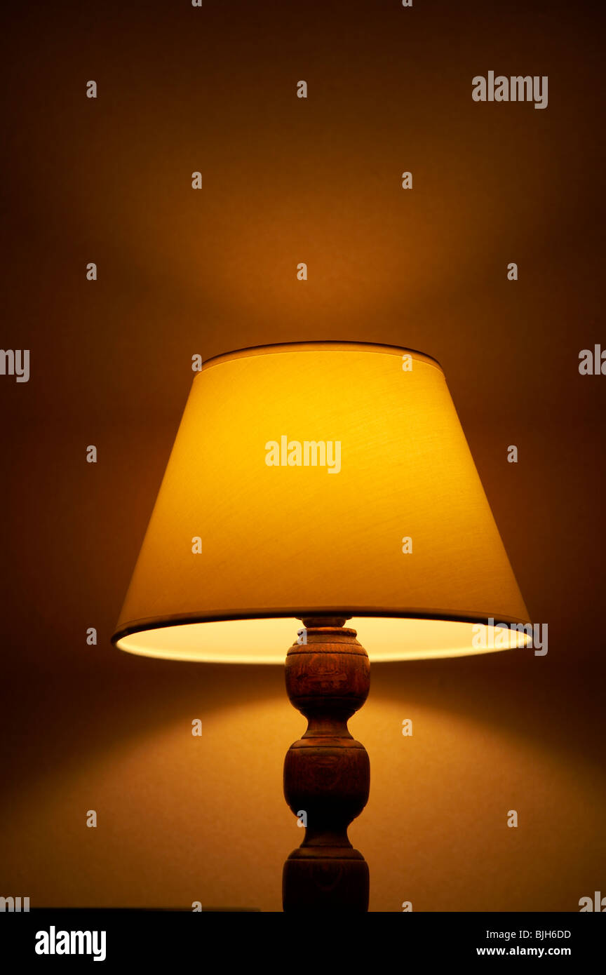 Shaded lamp light gallery light ideas shaded lamp stock photo royalty free image 28652441 alamy shaded lamp audiocablefo mozeypictures Gallery