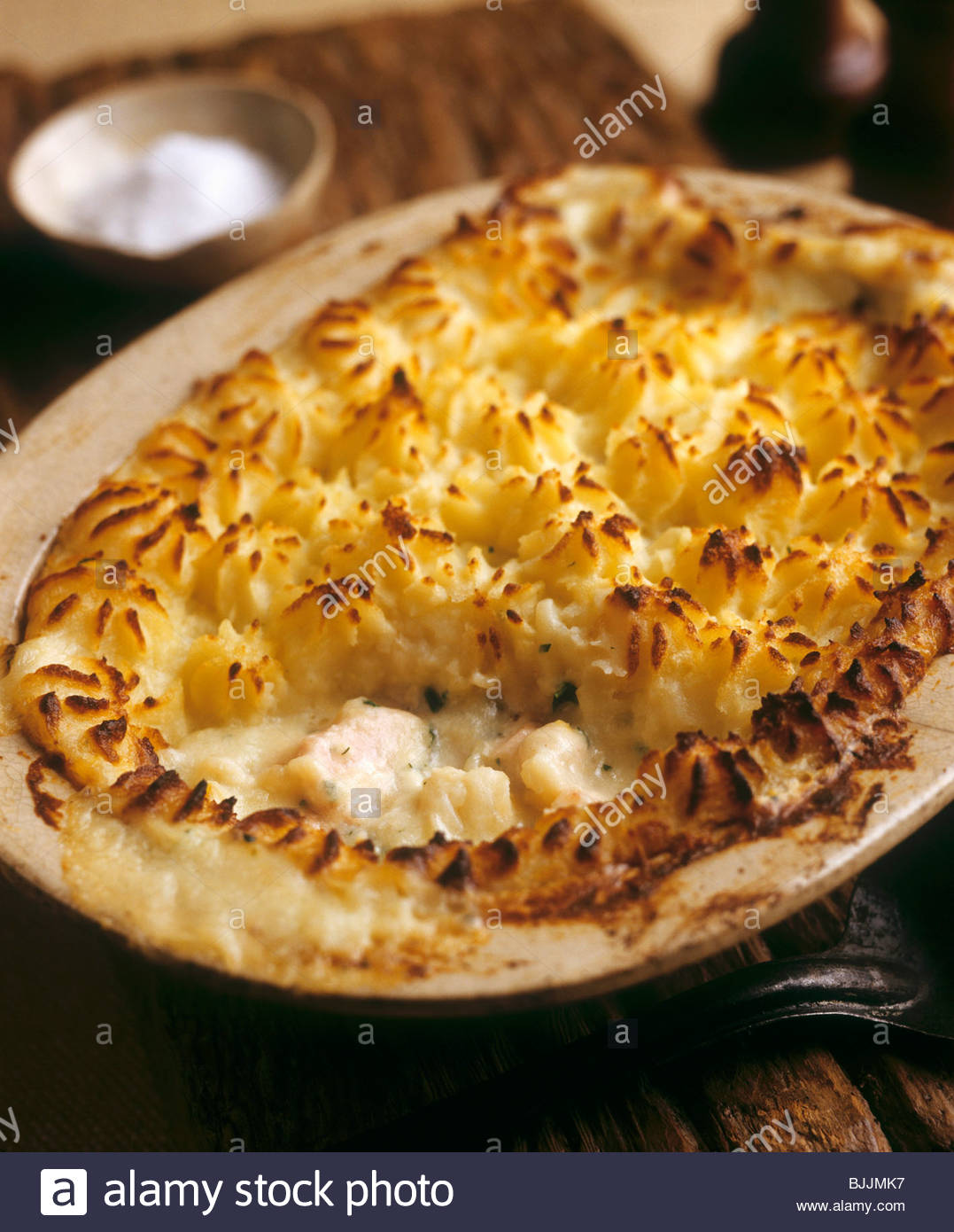 how to make baked fish pie