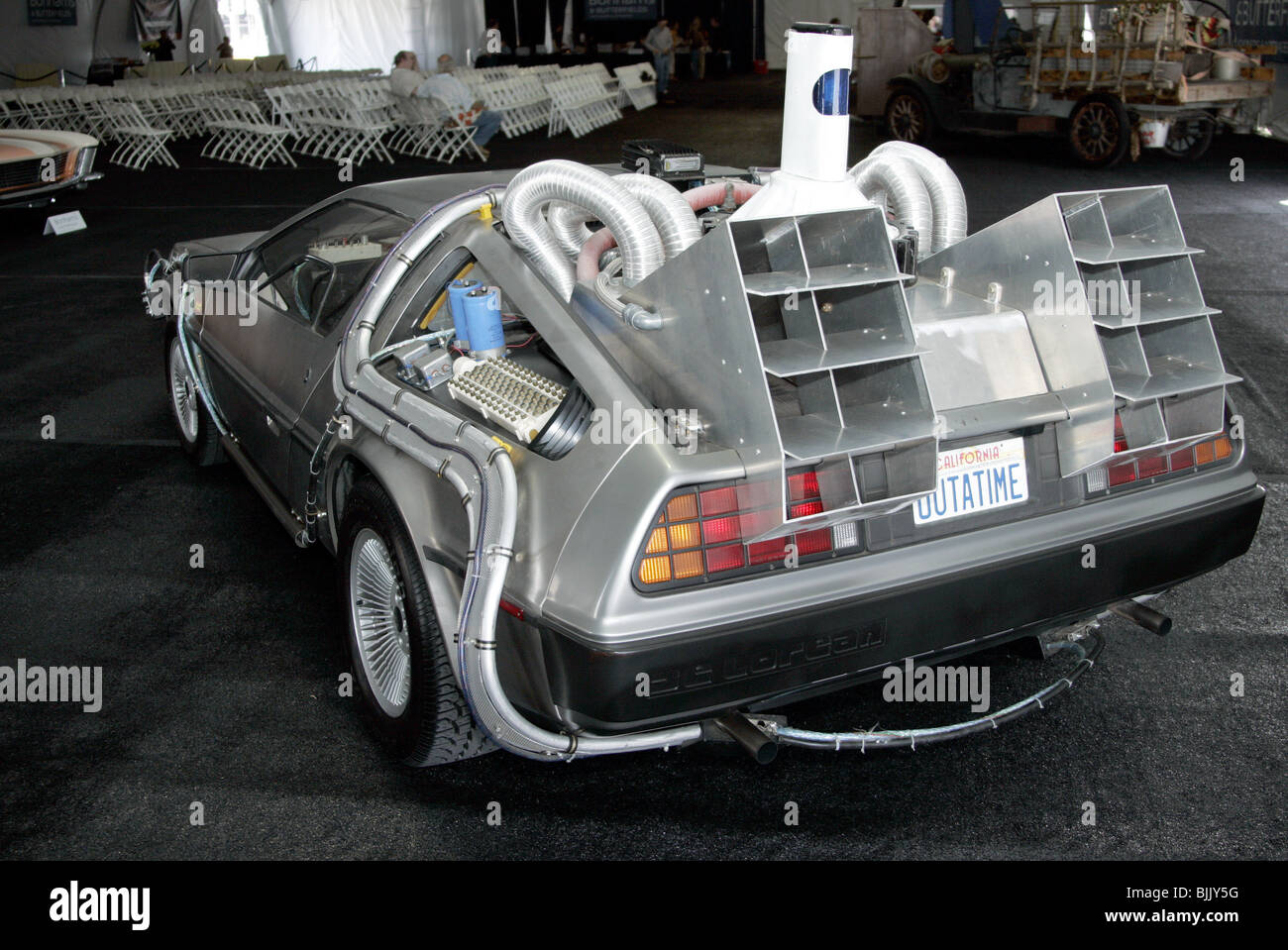 BACK TO THE FUTURE 3 1981 DELOREAN GEORGE BARRIS ...