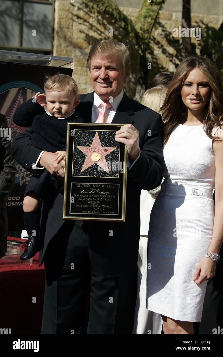 Donald Trump Melania Trump Amp Barron Trump Donald Trump