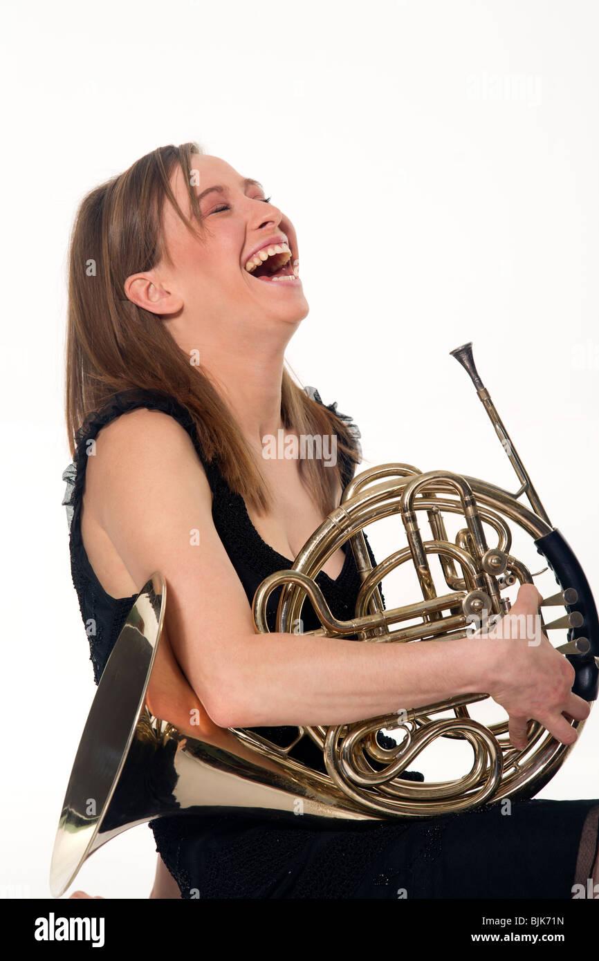 Female French Horn Player | www.pixshark.com - Images ...