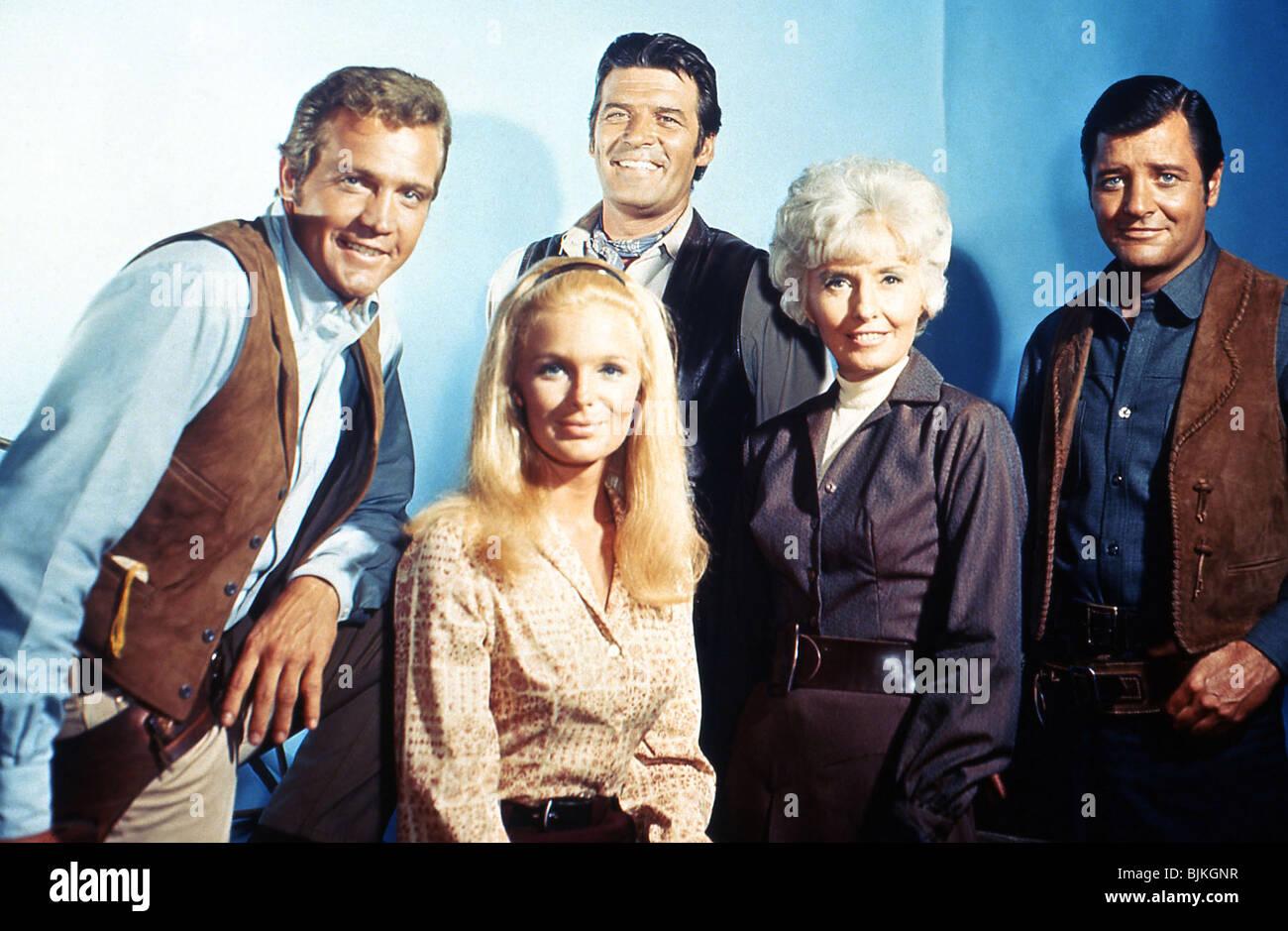 THE BIG VALLEY (TV) (1965-1969) LINDA EVANS, BARBARA ...