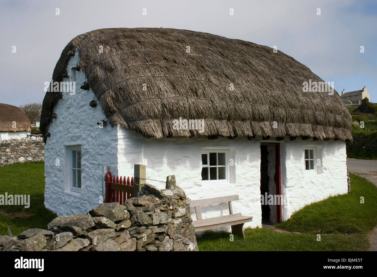 Cregneash Traditional Manx Village Thatched Cottage Isle