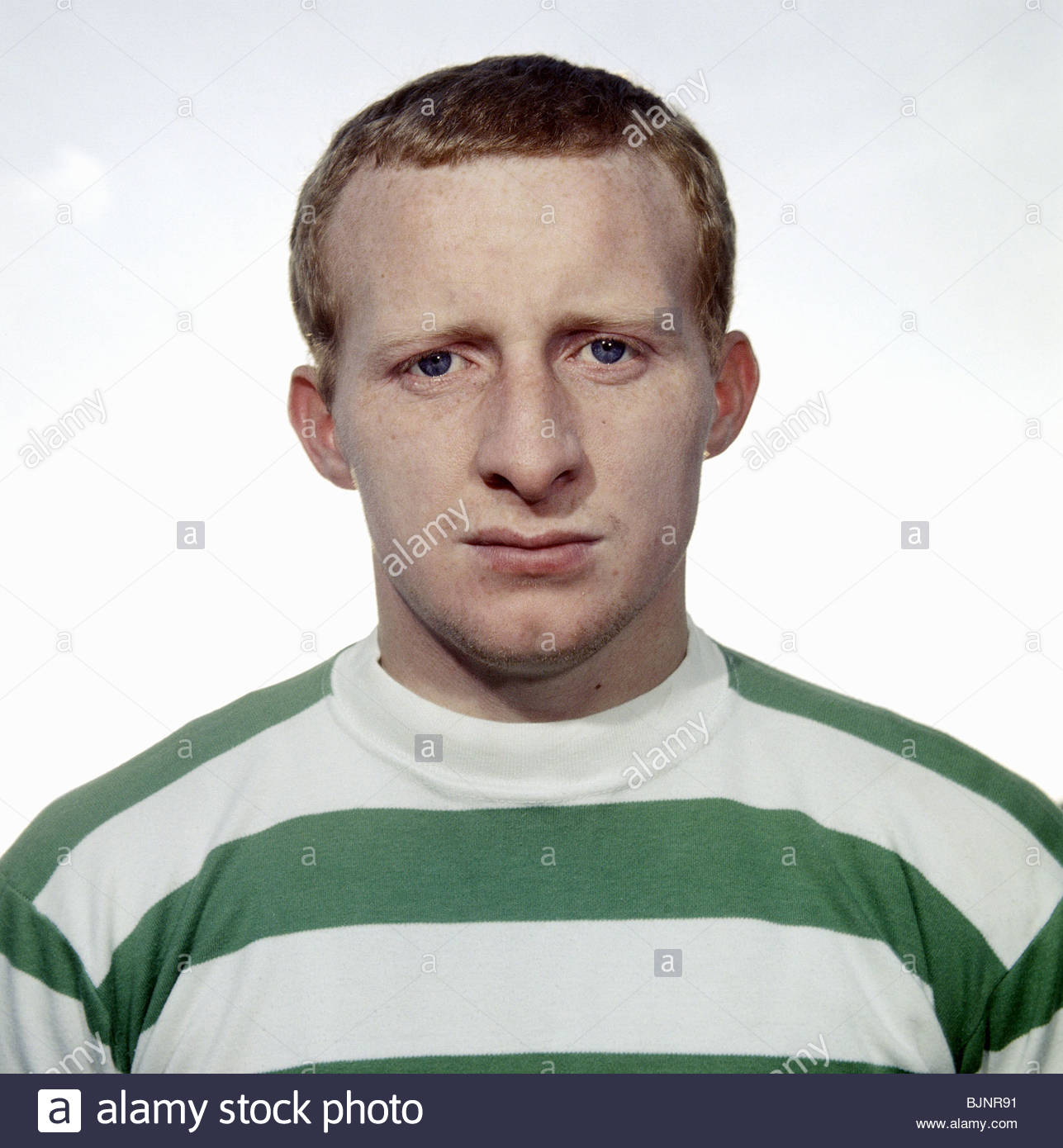 1968 1969 Celtic s Jimmy Johnstone Stock Royalty Free Image