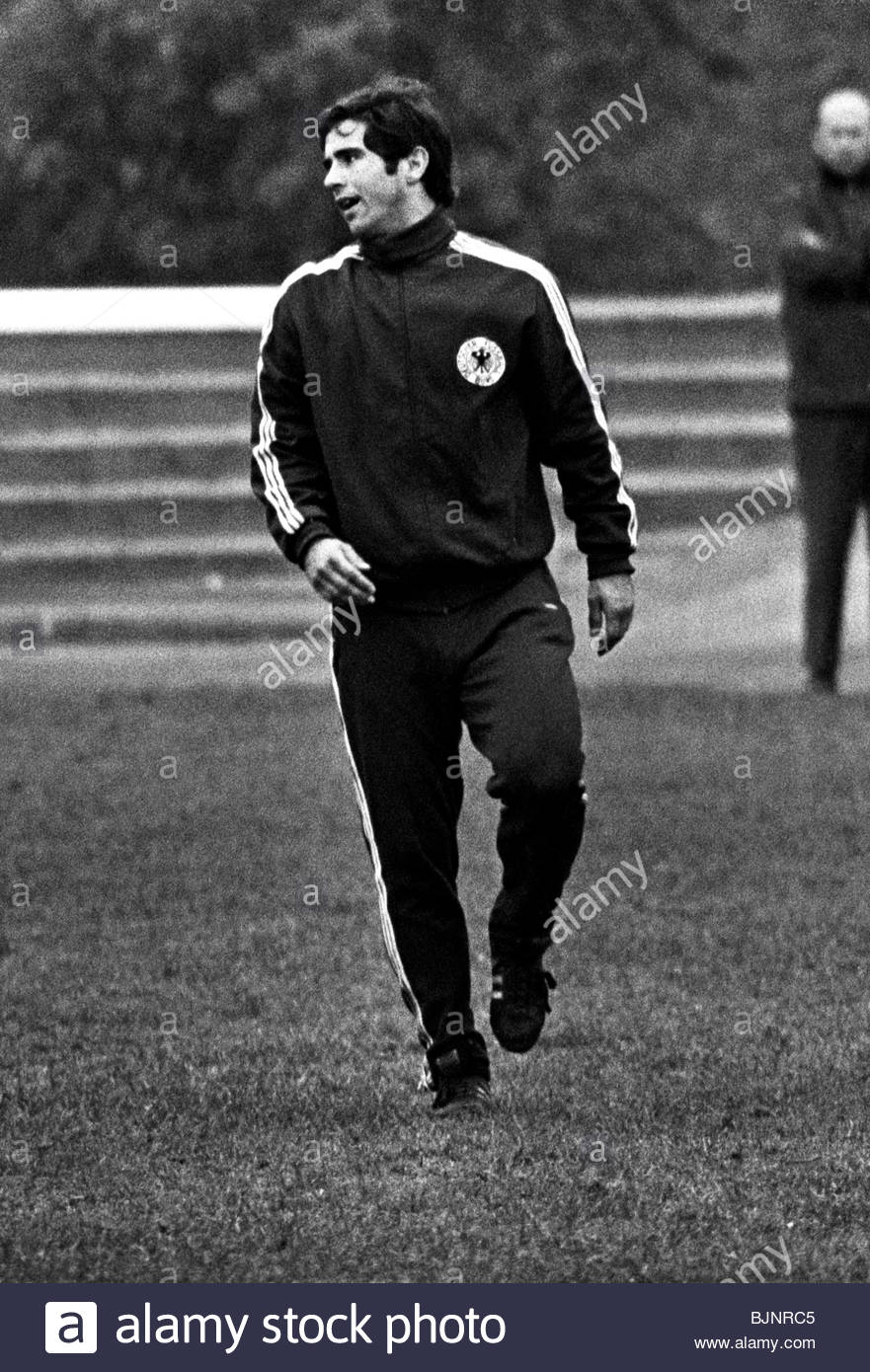 APRIL 1969 West Germany s Gerd Muller during training Stock