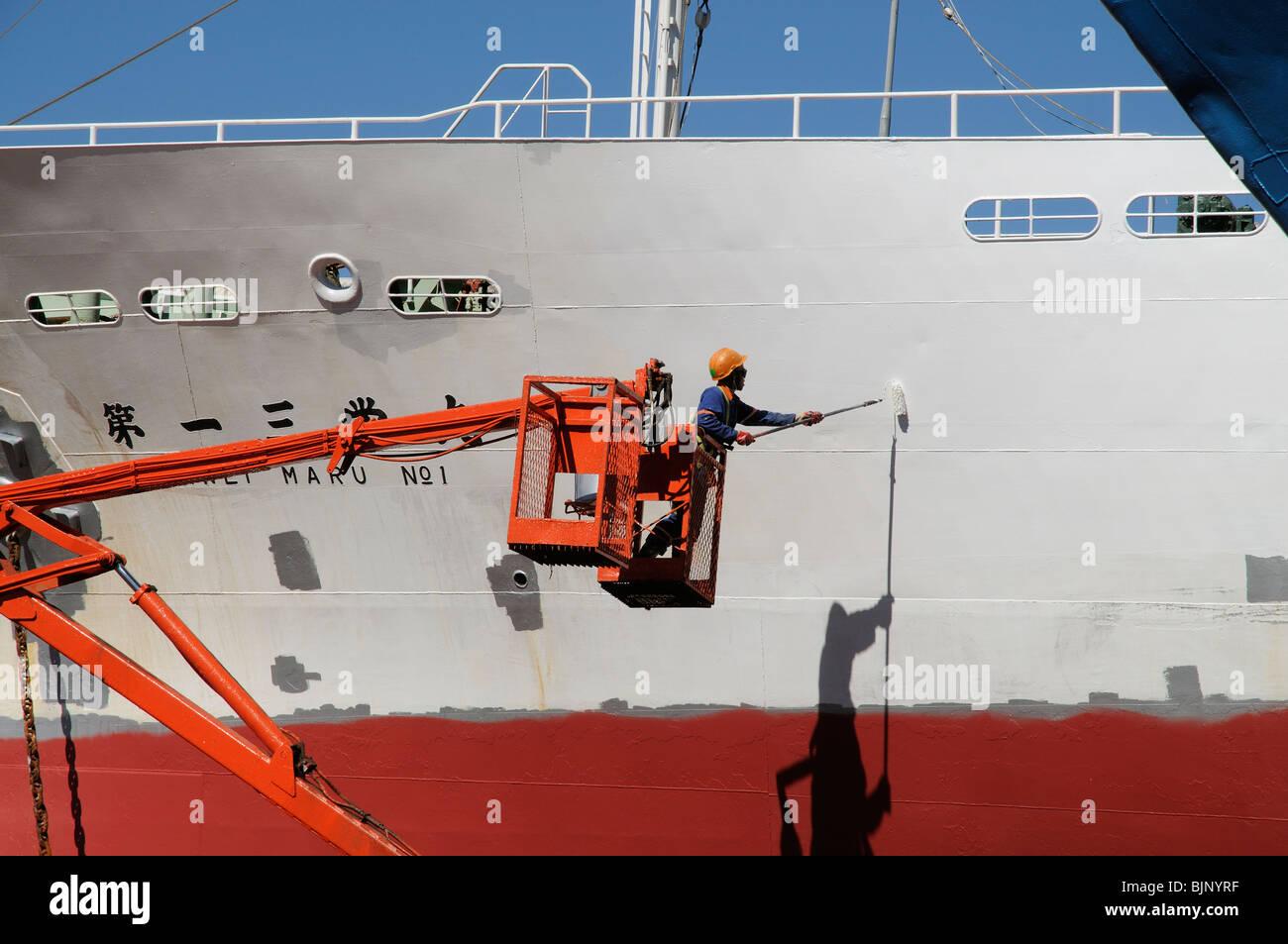 Ship Spray Paint Art