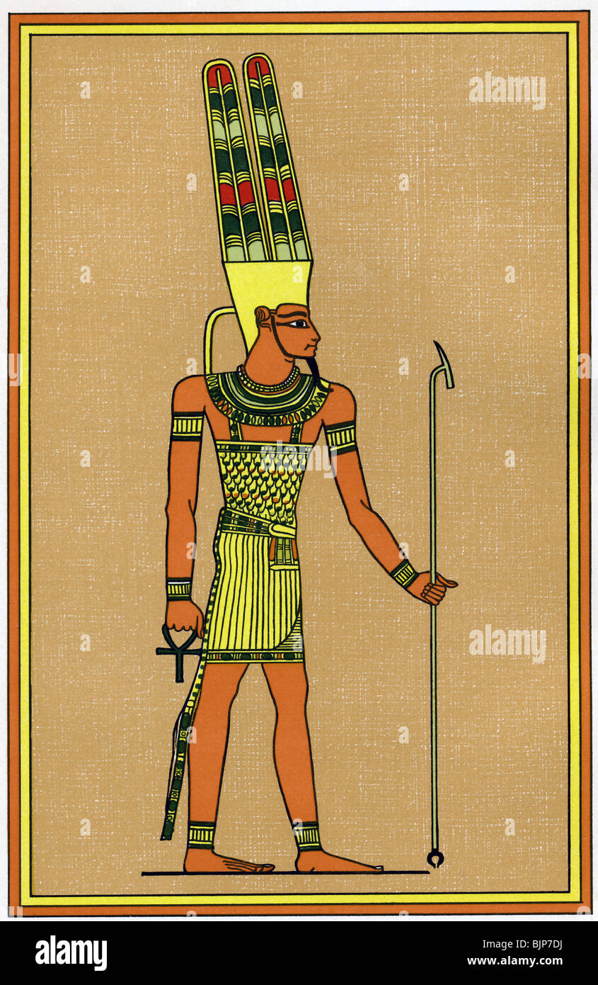 Amun Re Photographic Arts: Amun-Ra Was The All Powerful King Of The Gods, The Patron