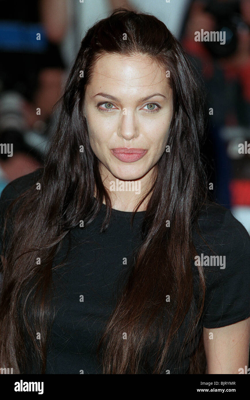 Angelina jolie gone in 60 seconds film prem london england 26 july 2000 stock image