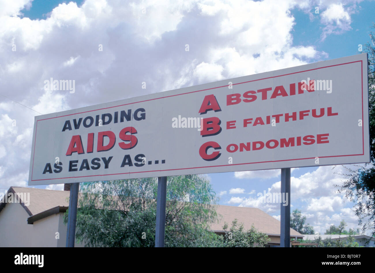 SOUTH AFRICA. HIV AIDS AWARENESS CAMPAIGN IN SOWETO Stock ...