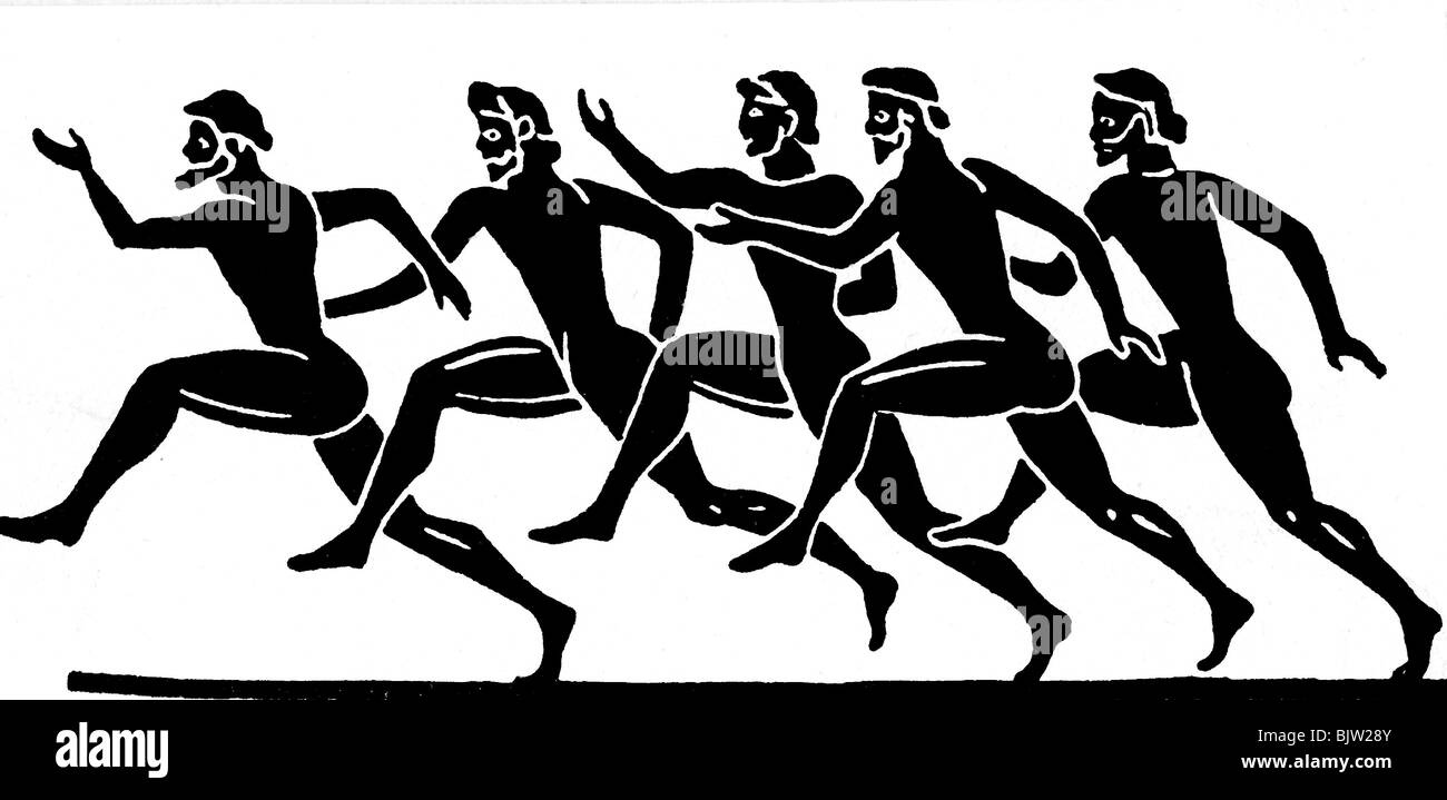 Ancient Olympics  the first Olympic Games in Greece