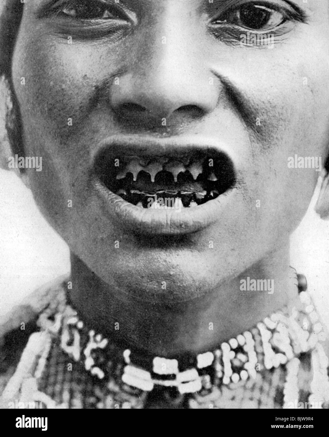 A Bagobo, with filed teeth Stock Photo, Royalty Free Image ... Pygmy People Teeth