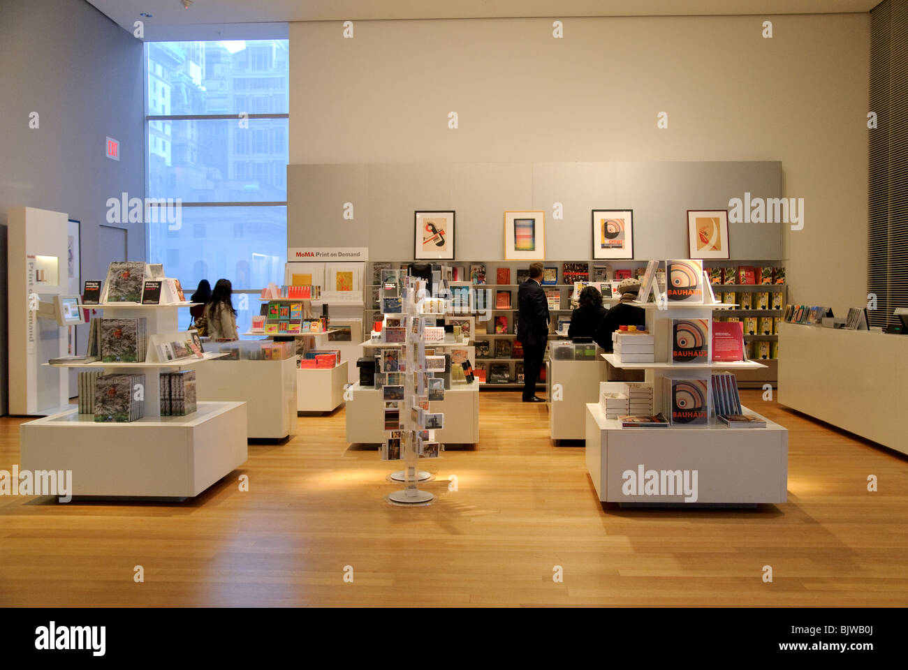moma museum of modern art book shop new york city stock photo 28831618 alamy. Black Bedroom Furniture Sets. Home Design Ideas