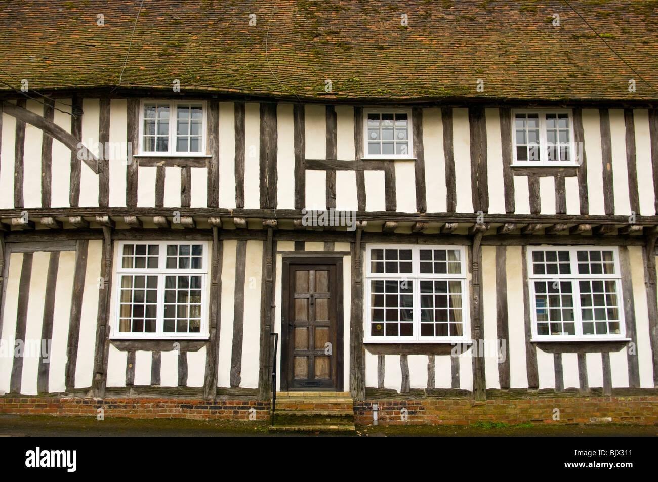 Timber Framed Tudor House Chapel Street Bildeston Suffolk ...