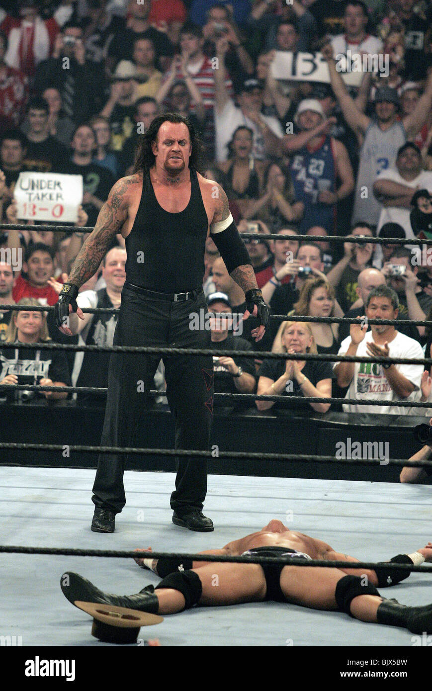 UNDERTAKER & RANDY ORTON WRESTLEMANIA 21 GOES HOLLYWOOD ...