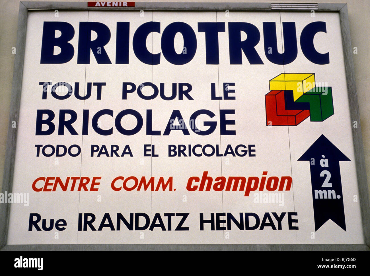 Bricotruc do it yourself hardware store do it yourself hardware bricotruc do it yourself hardware store do it yourself hardware store diy french basque country town of hendaye hendaye france europe solutioingenieria Choice Image