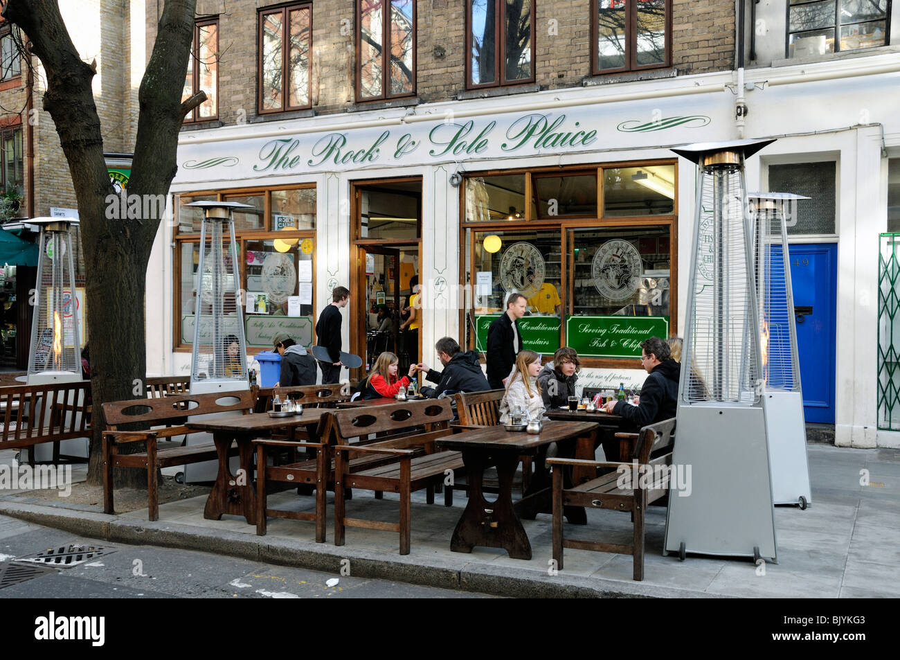 The rock sole place fish resturant covent garden for The fish place