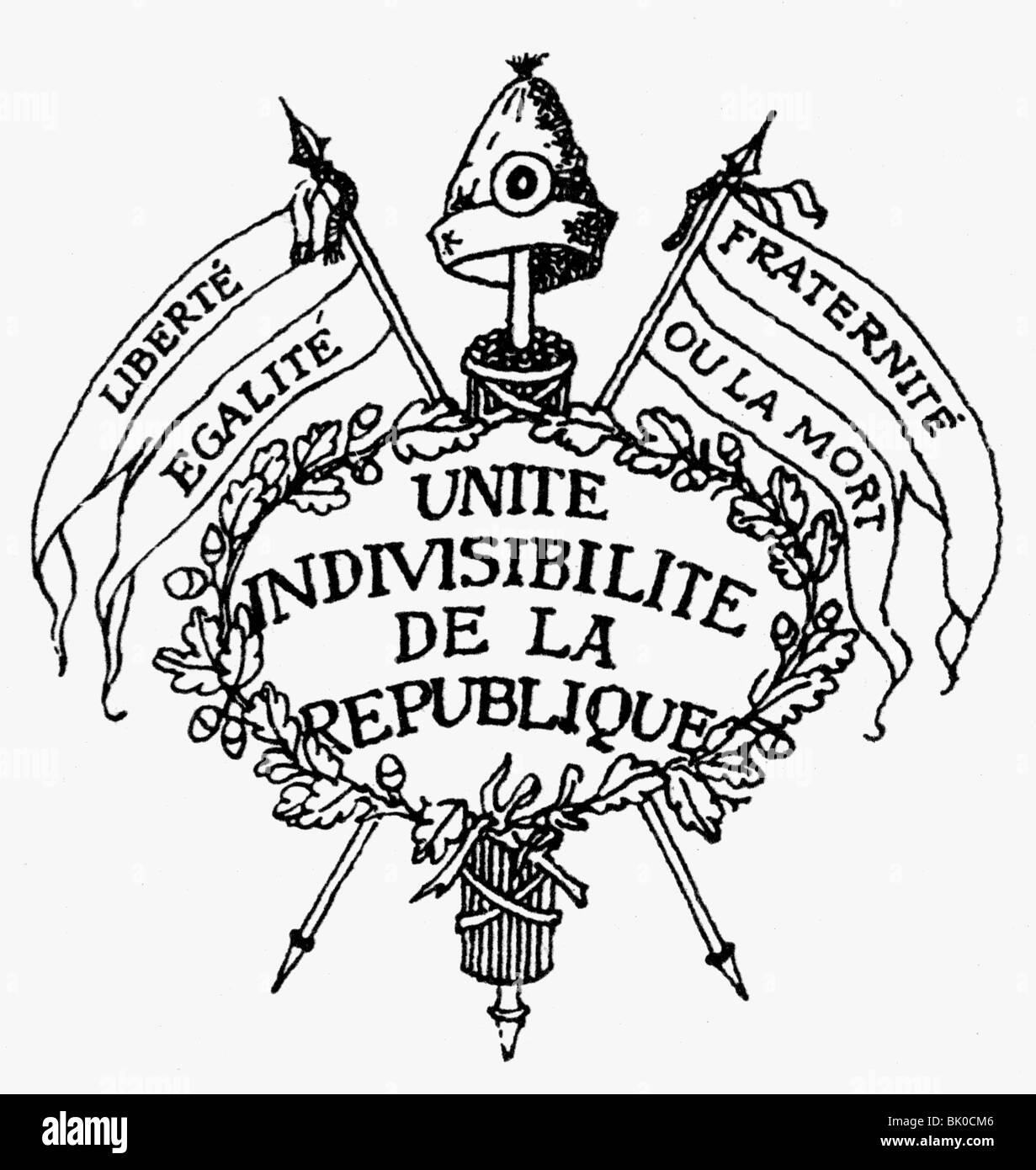 Geography travel france french revolution 1789 1799 symbols geography travel france french revolution 1789 1799 symbols motto unite indivisibilite de la republique liberte egal biocorpaavc