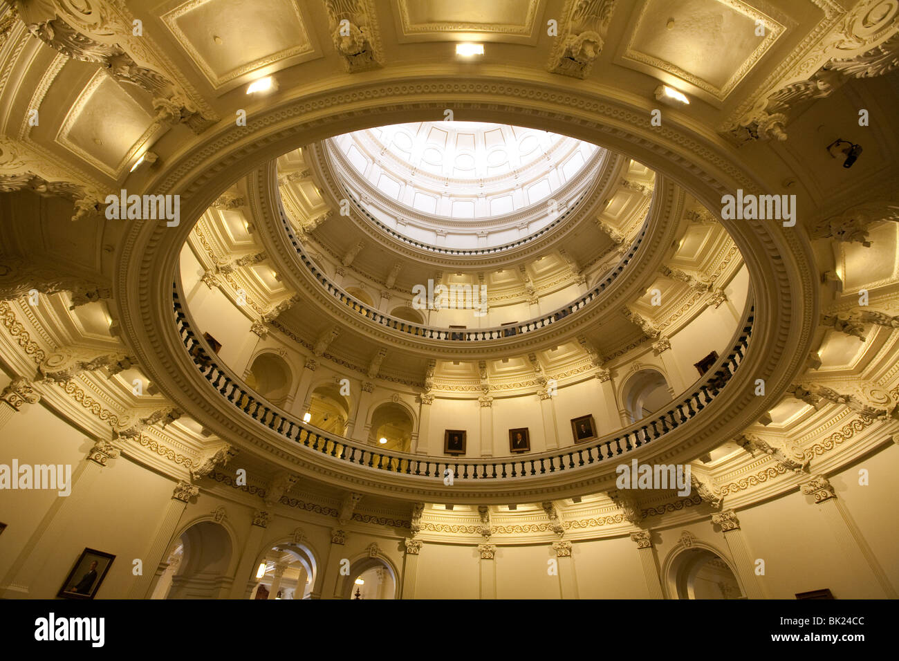 Interior view of texas capitol dome in austin texas stock photo interior view of texas capitol dome in austin texas arubaitofo Choice Image