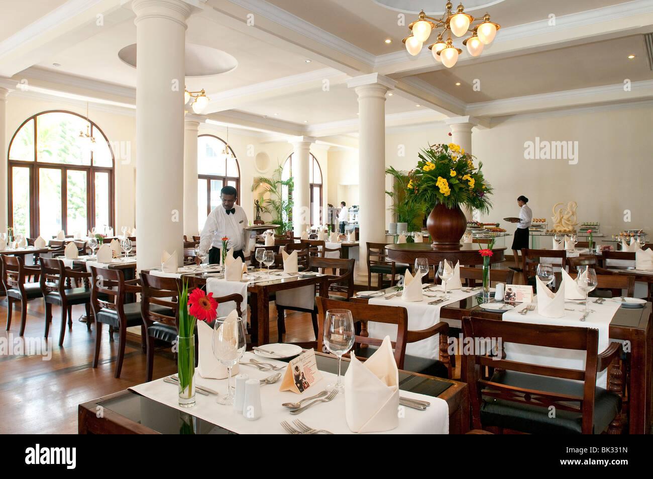 Buffet Restaurant Dining Room At Mount Lavinia Hotel Sri Lanka