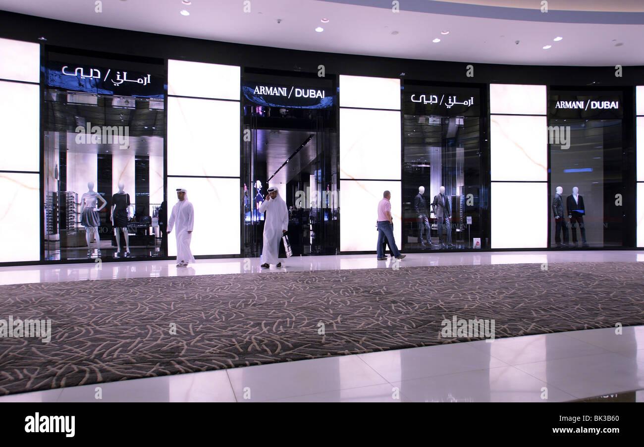Dior shop in the Fashion Avenue of the Dubai Mall, Dubai, United ...