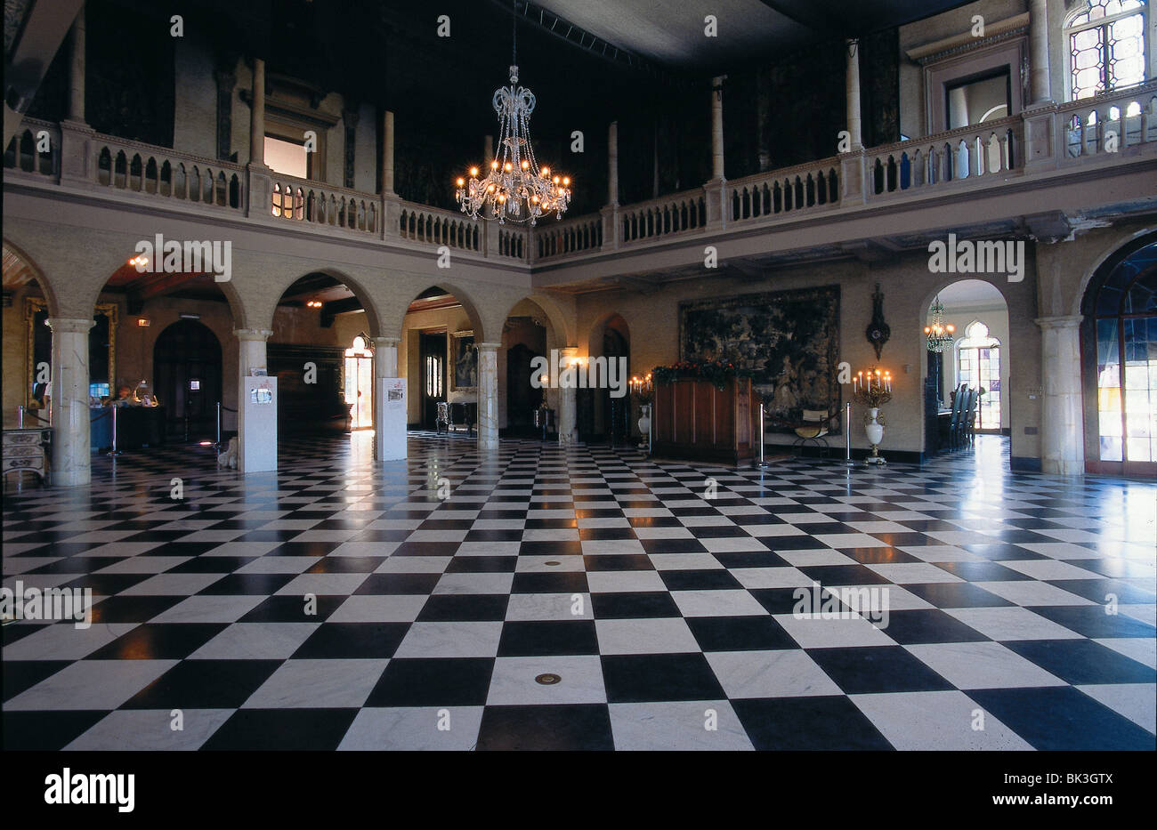 Ca 39 d 39 zan ringling mansion ballroom sarasota florida villa for Mansion floor plans with ballroom