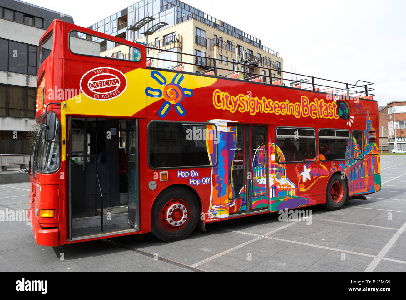 Belfast Titanic Tour Bus