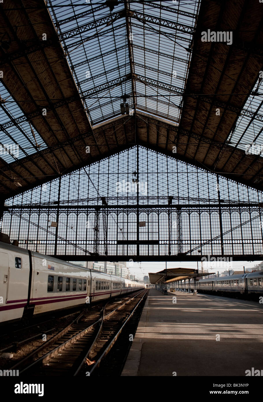 Paris france train in gare d 39 austerlitz train station for Train tours paris austerlitz