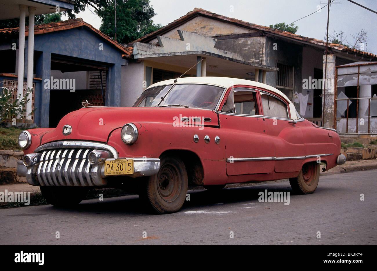 1950 s buick cuba stock image