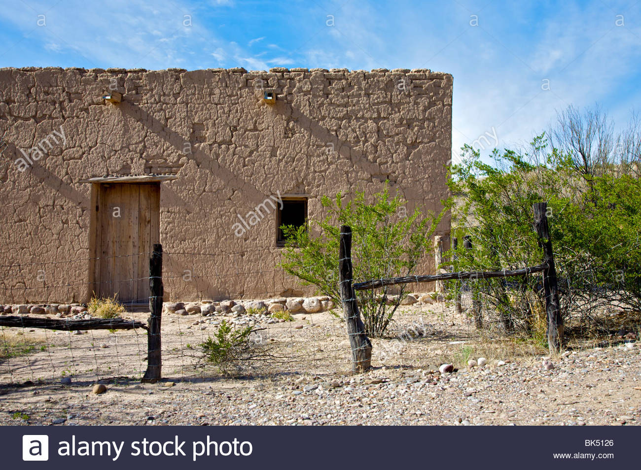Old adobe house in castolon big bend national park texas for Adobe home builders texas