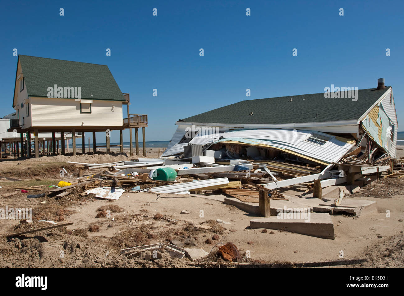 Galveston (TX) United States  city photos gallery : Hurricane Damage, Galveston, Texas, United States Of America, North ...