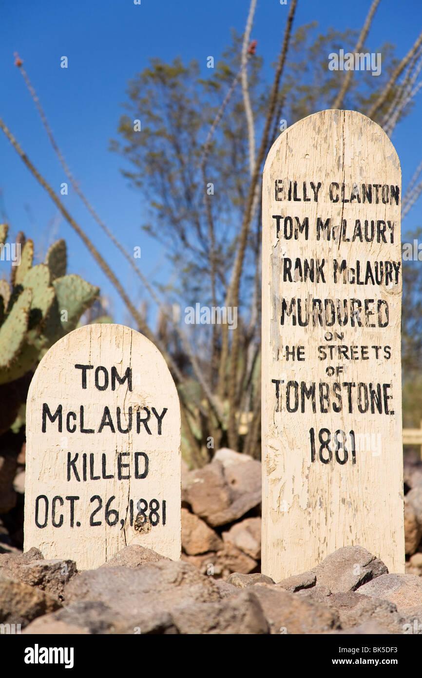 Arizona cochise county cochise - Boothill Graveyard Tombstone Cochise County Arizona United States Of America North America