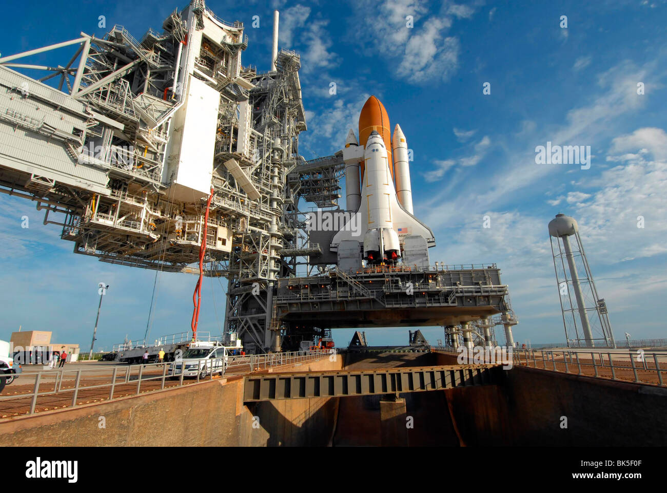 A daylight view at NASA's Kennedy Space Center Launch Pad ...