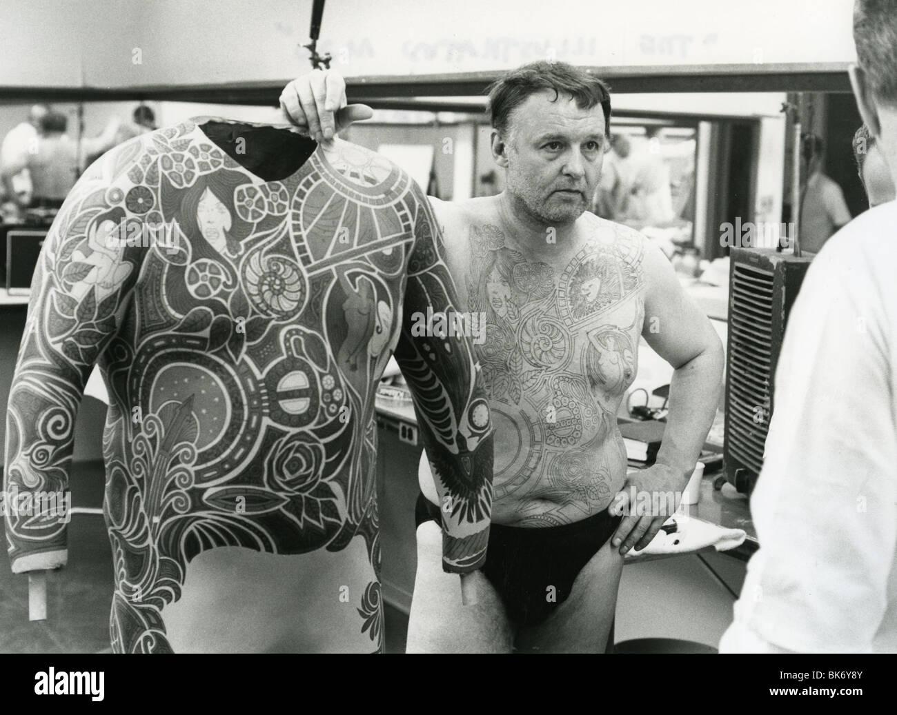 Rod Steiger Tattoos