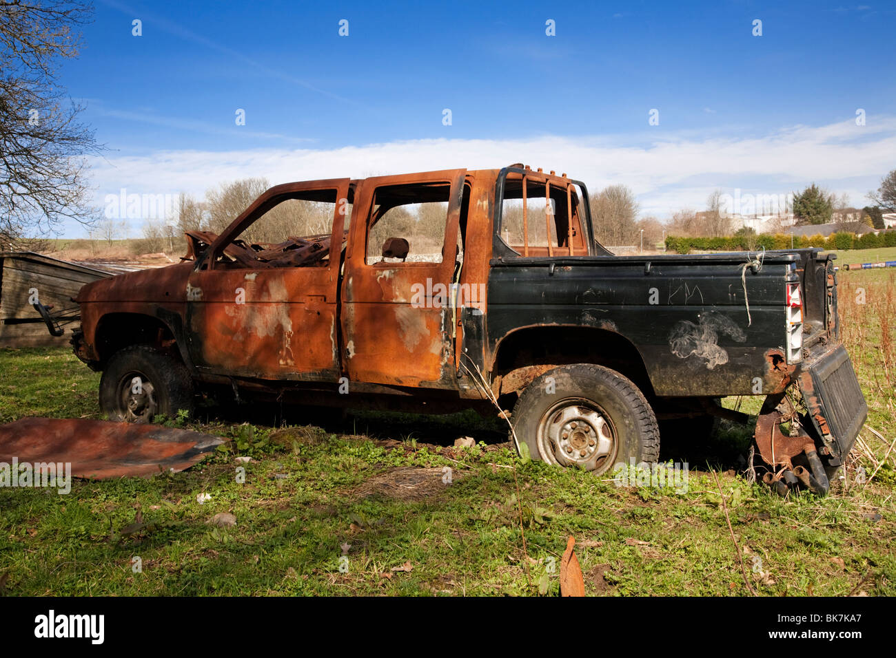 Abandoned Truck Stock Photos & Abandoned Truck Stock Images - Alamy