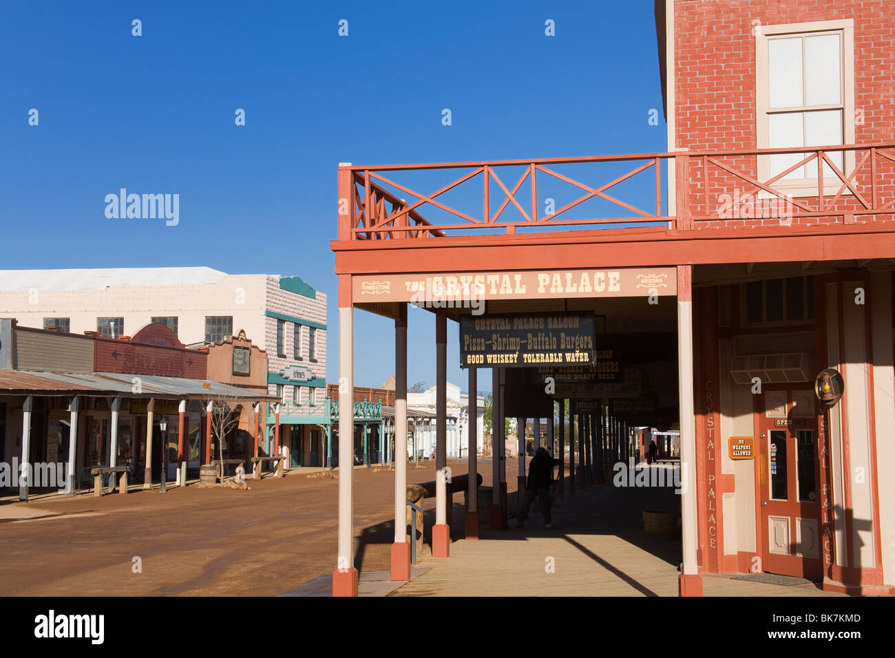 Arizona cochise county cochise - The Crystal Palace Saloon Tombstone Cochise County Arizona United States Of America North America