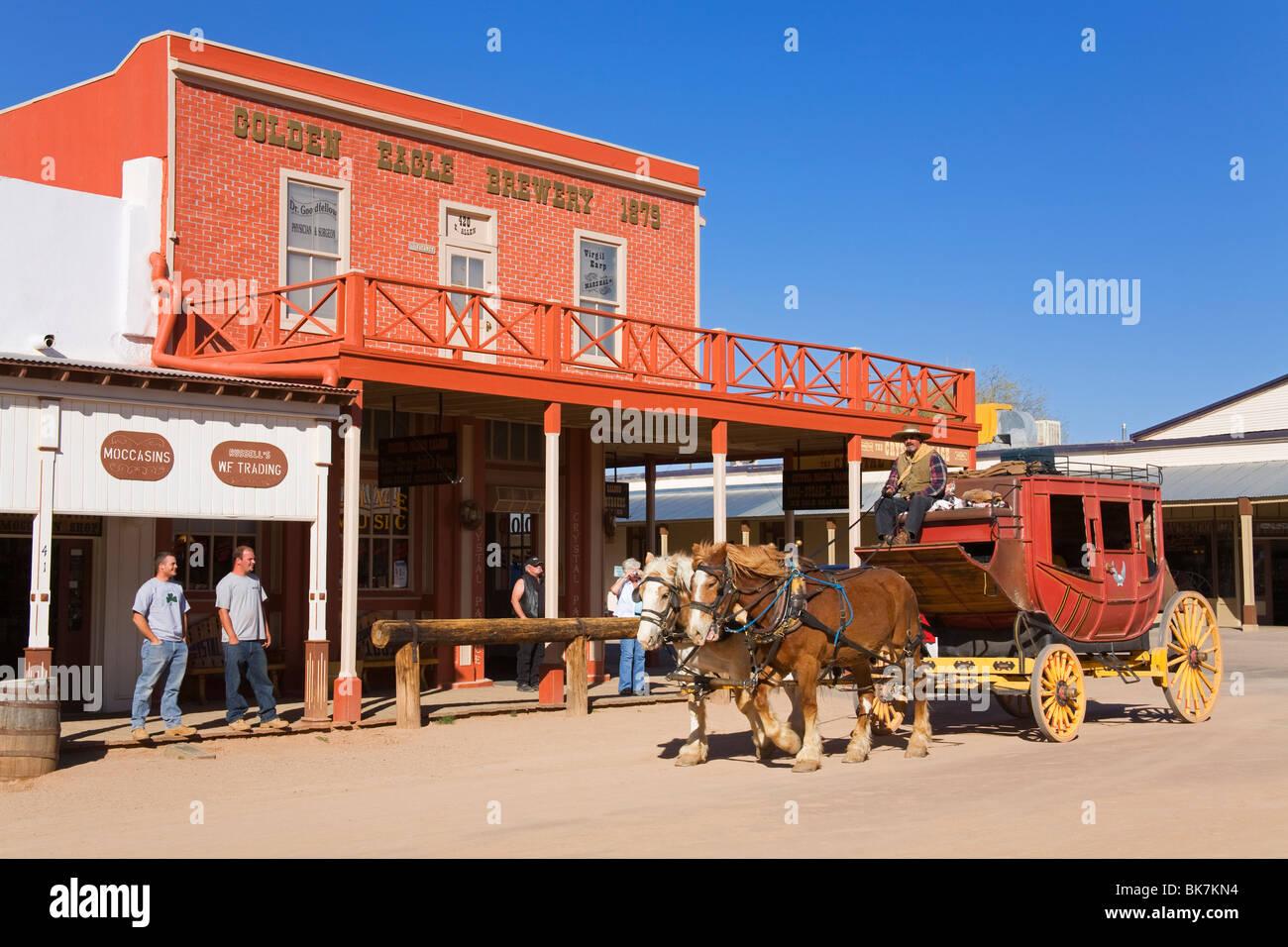 Arizona cochise county cochise - Stagecoach Tombstone Cochise County Arizona United States Of America North America